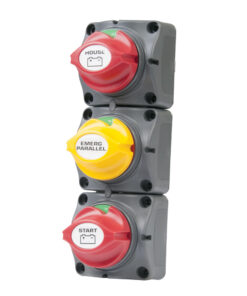 BEP Battery Distribution Cluster f/Single Engine w/Two Dedicated Battery Banks - Vertical Mount