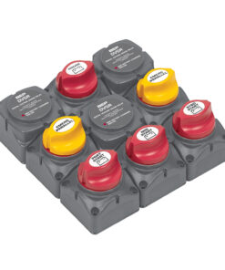 BEP Battery Distribution Cluster f/Triple Outboard Engine w/Four Battery Banks