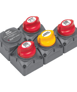 BEP Battery Distribution Cluster f/Twin Inboard Engines w/Three Battery Banks