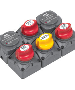 BEP Battery Distribution Cluster f/Twin Outboard Engines w/Three Battery Banks
