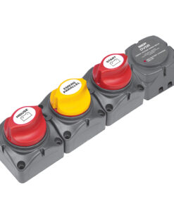 BEP Horizontal Battery Distribution Cluster f/Single Engine w/Two       Battery Banks