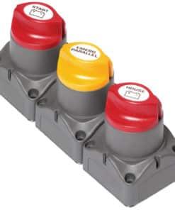 BEP Remote Battery Management Cluster f/Single Engine