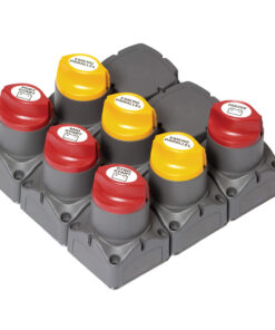BEP Remote Battery Management Cluster f/Triple Engine