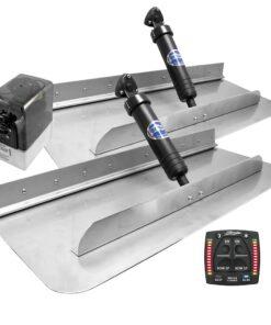 Bennett Marine 30x12 Hydraulic Trim Tab System w/One Box Indication