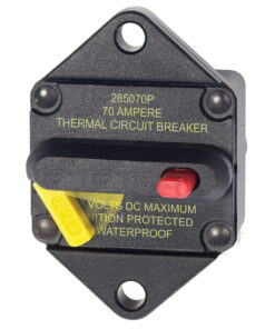 Blue Sea 7085 70 Amp Circuit Breaker Panel Mount 285 Series