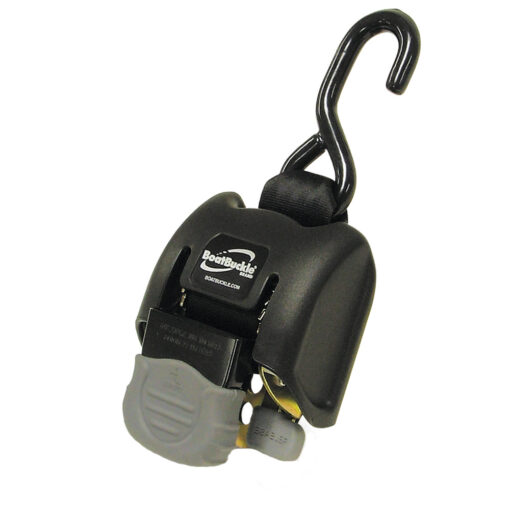 """BoatBuckle G2 Retractable Transom Tie-Down - 2""""-43"""" - Pair"""