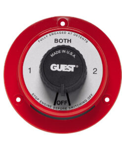 Guest 2101 Cruiser Series Battery Selector Switch w/o AFD