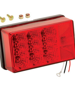"""Wesbar 4"""" x 6"""" Waterproof LED 7-Function"""
