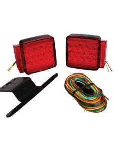 "Wesbar Under 80"" Submersible LED Combination Trailer Light Kit"